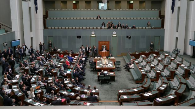 Parliamentary debate: The lower house votes on the metadata laws.