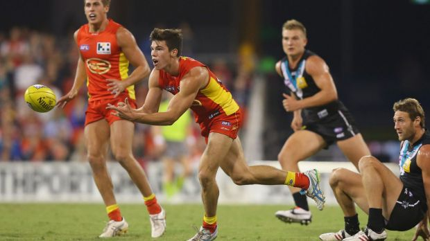 Cautious approach: Jaeger O'Meara is recovering from dual knee surgery.