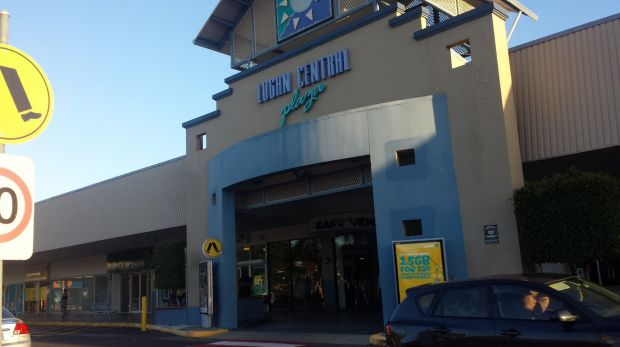 A man died after an altercation at Logan Central Plaza.