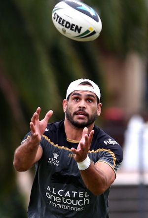 In demand: Greg Inglis.