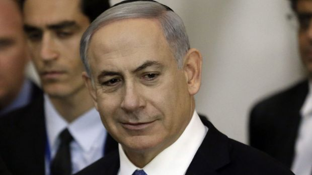 Prime Minister Benjamin Netanyahu rejected a two-state solution to the Israeli-Palestinian conflict prior to his re-election.