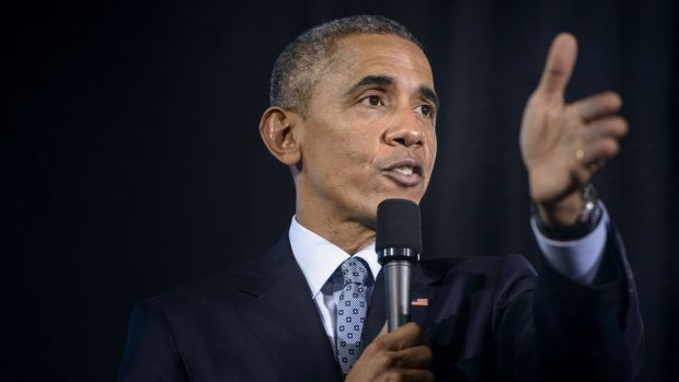 "US President Barack Obama said mandatory voting would be ""transformative"" on Wednesday."