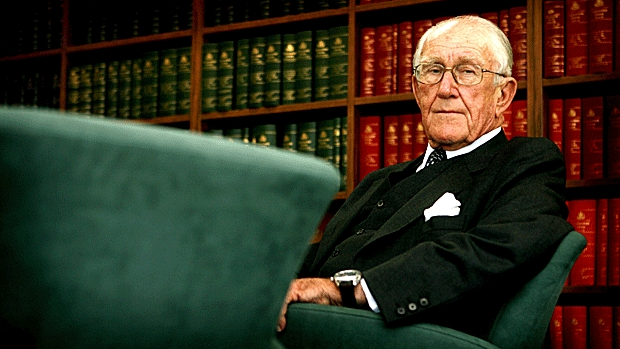 Former prime minister Malcolm Fraser, who died on Friday morning.