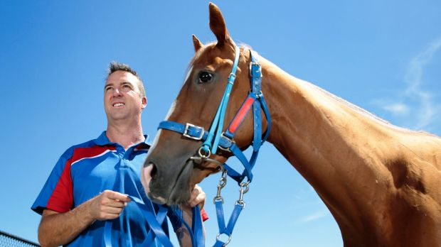 Nick Olive and Single Gaze are getting ready for the $2 million Magic Millions Guineas.