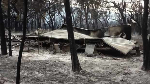 Fire swept through parts of the One Mile area in 2012.