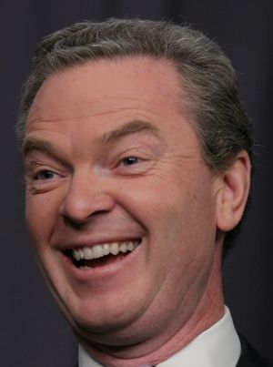Loves a laugh: Education Minister Christopher Pyne.