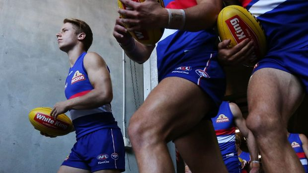 Waiting: Lachie Hunter may have had no part in the bet that was placed through his account.