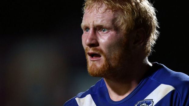 Played on worse:  Bulldogs captain James Graham.