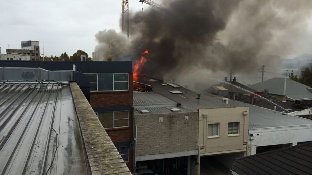 crows nest fire - photo #8