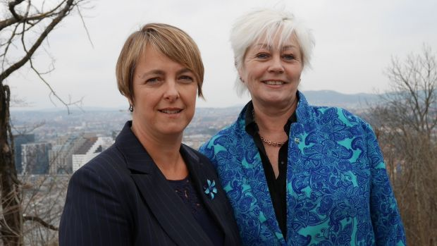 Weed killers: Former attorney-general Nicola Roxon has been meeting European campaigners such as Norwegian Cancer ...