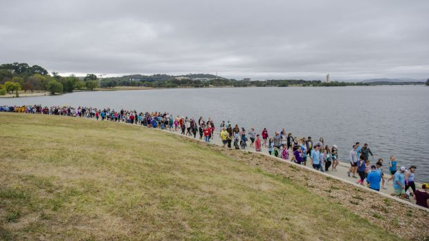 A fundraising walk at Lake Burley Griffin was held in honour of Tara Costigan. The walk also represented more than just ...