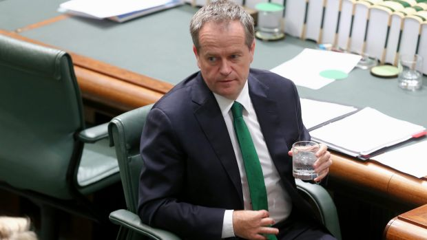 Avoiding risk: Bill Shorten.