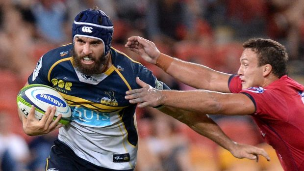 Mate against mate: The Brumbies' Scott Fardy believes modern players are highly professional in their approach.