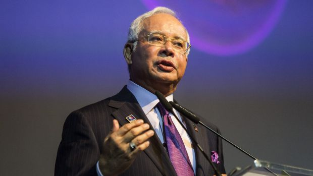 Prime Minister Najib Razak speaking at the Invest Malaysia Conference in Kuala Lumpur last year. Critics of the new ...