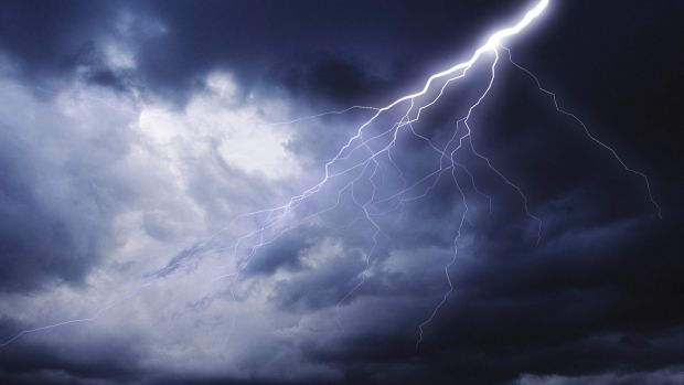 A man has died after struck by lightning at a station 20km from Normanton.