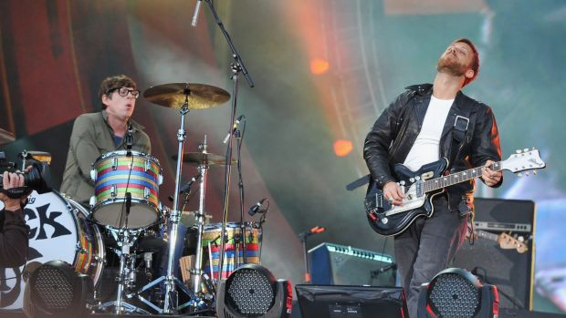 Black Keys drummer Patrick Carney (pictured with Dan Auerbach) is unable to perform as planned in Australia.