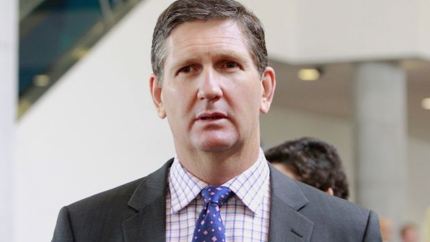 """""""There are some very serious questions here"""": Lawrence Springborg."""