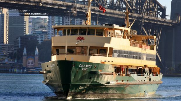 Many of Sydney's ferry services now experience their peak loads for the week on Sundays.