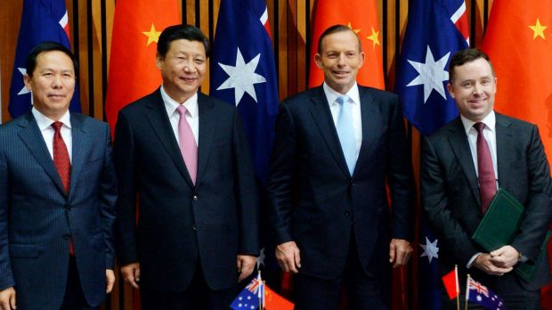 Senior figures from China and Australia were present for the signing of a draft agreement  between China Eastern and ...