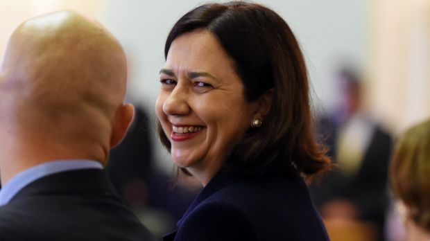 Winners are grinners:  Premier Annastacia Palaszczuk's Labor party would easily win another election if it was held ...