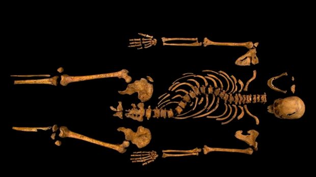 The King's skeleton was discovered underneath a Leicester council car park in 2012, some 528 years after he died in battle.