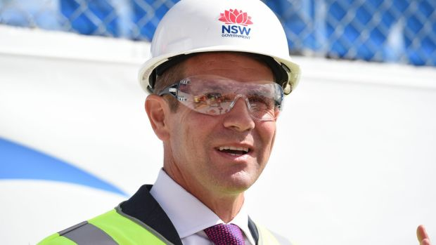 """Premier Mike Baird: """"My job is to encourage investment into NSW."""""""