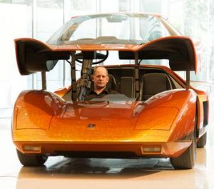 The 1969 Hurricane a Holden concept car fully restored and unveiled.