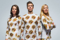 Wear your food and eat it too: The McDonald's clothing range will be available to purchase online.