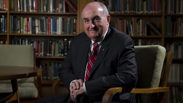 ANU Alumni of the year, Professor Michael McRobbie AO FAHA, a global leader in higher education and President of Indiana ...