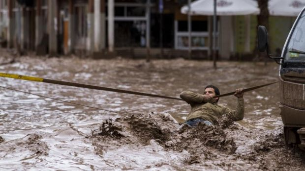 Floods in Chile may have a contribution from climate change.