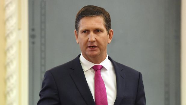 Opposition Leader Lawrence Springborg.