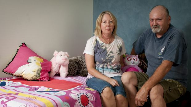Michael and Judy Tait are devastated their Australian-born granddaughter Alexandra has been forced to leave the country.
