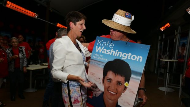 Port Stephens MP Kate Washington will take on the portfolios.