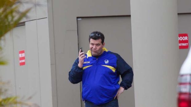 On leave while investigation is conducted ... Parramatta chief executive Paul Osborne.