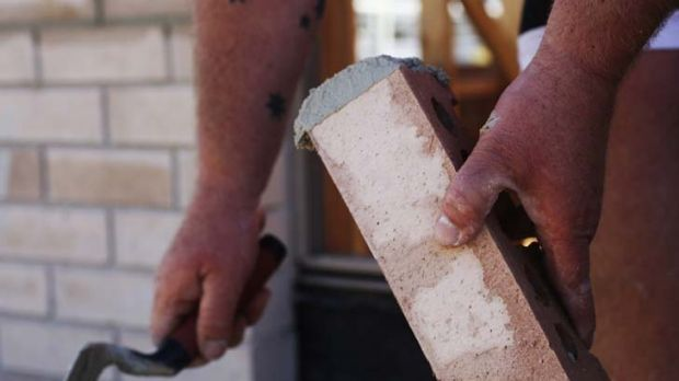 Taking a hammering ... complaints against home builders have risen sharply.