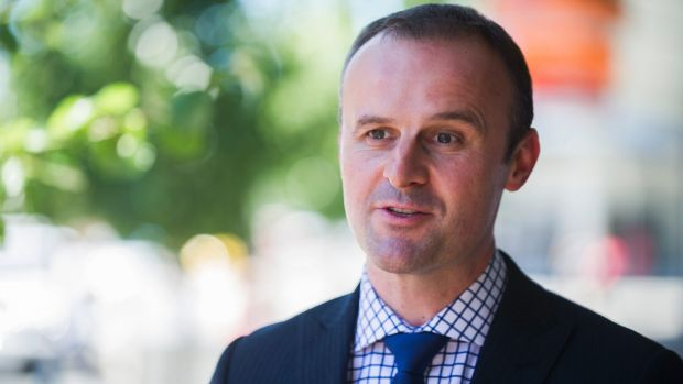 Chief Minister and Treasurer Andrew Barr made the new structure public this month.