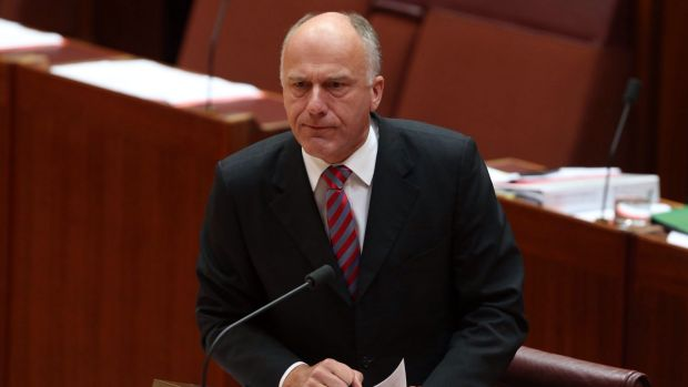 Employment Minister Eric Abetz declined to answer questions about the new compo arrangements for federal politicians.