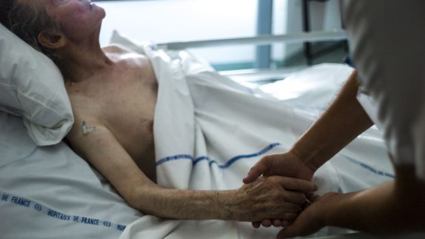 People have smuggled lethal drugs into hospitals so their loved ones can die, Philip Nitschke says.