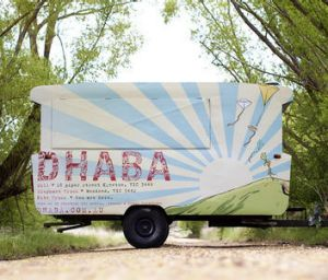 Dhaba food van, sometimes seen in Castlemaine and Woodend.