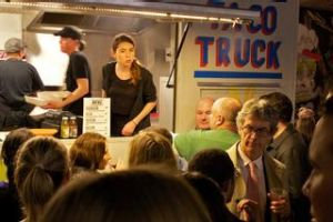 The Taco Truck on the move in Melbourne's north.