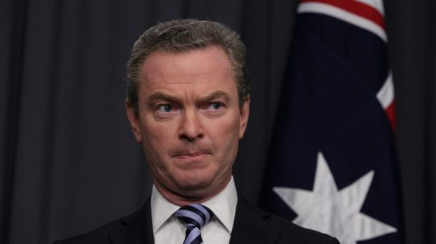 Education Minister Christopher Pyne has concerns over the government's new citizenship plan but will keep his 'counsel ...