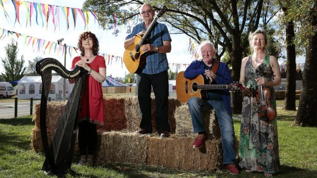 The Heartstring Quartet from Ireland – Maire Ni Chathasaigh, Chris Newman, Arty McGlynn and Nollaig Casey – will perform ...