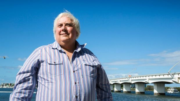 Clive Palmer will fight again in the seat of Fairfax. Voters however says they are thinking again.