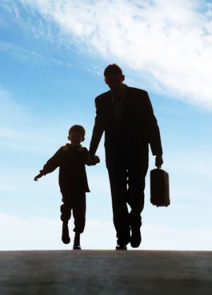A US study has found teenage boys with a father figure are less likely to engage in delinquent behaviour.