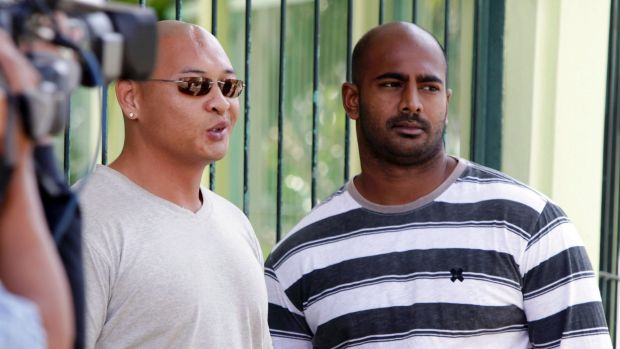 Andrew Chan and Myuran Sukumaran, now on Nusakambangan penal island awaiting their fate.