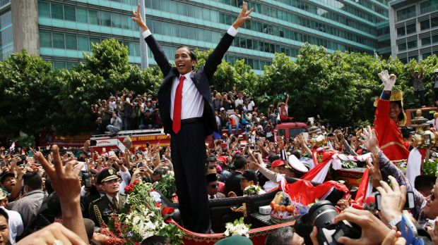 Weak and isolated: Indonesian President Joko Widodo was popular with civil society, but out of favour with the ...