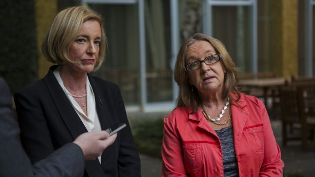 Serious allegations: ACT Minister for Education Joy Burch, right, and director-general of the ACT Education and Training ...