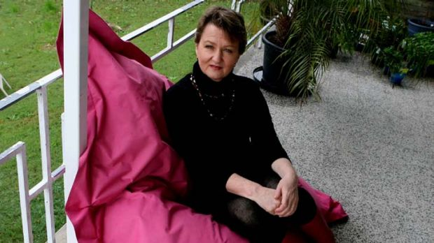 Daughter of Bob Hawke, Sue Pieters-Hawke, at her Middle Cove home.