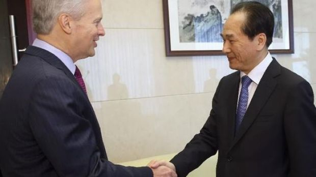 No deal, says Associated Press: Gary Pruitt, chief executive and president of AP meets Xinhua president Cai Mingzhao in ...