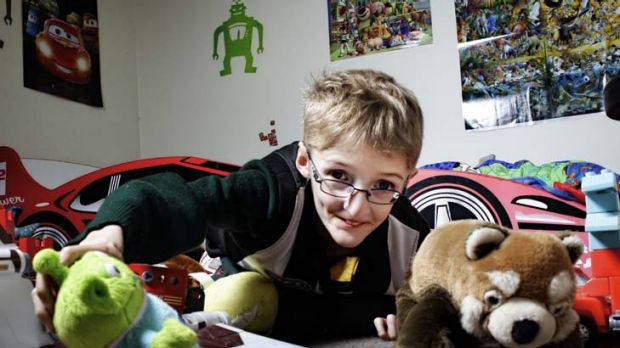 Too young for spinal fusion to correct curvature and suffering Marfans syndrome, Matthew Brown has had an externally ...